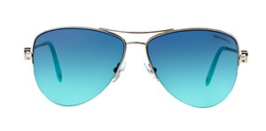 Tiffany & Co. TIFFANY AVIATOR TF 3021 SILVER with TIFFANY BLUE LENS