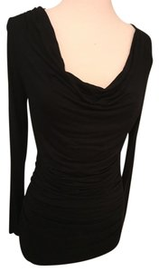 Carmen Marc Valvo Rusched Scoop Neck Sexy Tunic