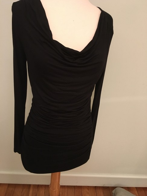 Carmen Marc Valvo Rusched Scoop Neck Sexy Tunic Image 2