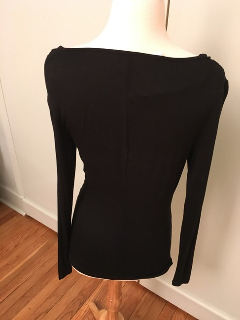 Carmen Marc Valvo Rusched Scoop Neck Sexy Tunic Image 4