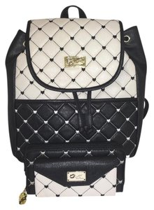 Betsey Johnson Quilted Diamond Backpack
