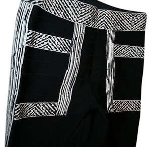 Herve Leger Black Leggings