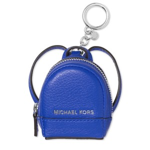 Michael Kors Gift Boxed! Rhea Backpack Leather Keychain Charm