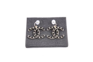 Chanel Chanel Braided CC Earrings