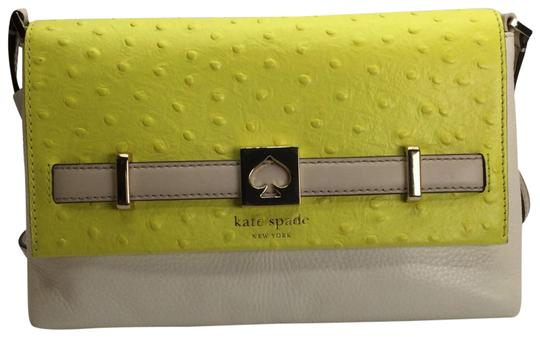 Preload https://img-static.tradesy.com/item/20236271/kate-spade-houston-street-exotic-loula-two-tone-handbag-cubnmagp-yellow-and-white-leather-cross-body-0-2-540-540.jpg