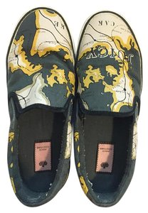Juicy Couture Map Globe Juicy Sneaker Loafer navy Athletic