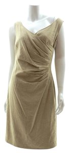 Lauren Ralph Lauren Tan Wrap Dress