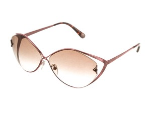 1c6fede3c8f8 Louis Vuitton Pink-tone Louis Vuitton Laurel LV logo oversize sunglasses
