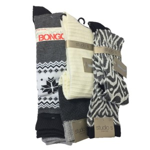 Studio S / Bongo Sock Bundle Knee High Socks