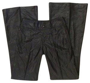 7 For All Mankind Wide Leg Pants black