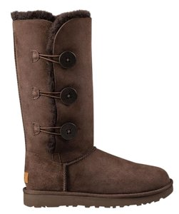 UGG Australia Uggs Bailey Button Ugg Bailey Button Chocolate Boots