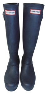 Hunter Tall navy blue Boots