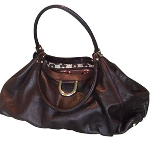 Gucci Classic Leather Gold Hardware Like New Hobo Bag