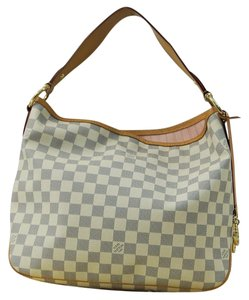 Louis Vuitton Lv Delightful Pm Azur Damier Shoulder Bag