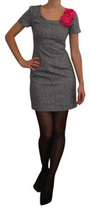 Chloé short dress gray Wool Chloe Mini on Tradesy