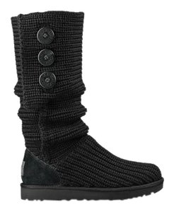 UGG Australia Classic Cardy Black Boots