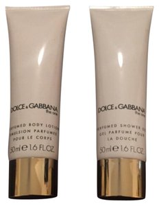 Dolce&Gabbana The one dolce gabbana women body lotion and showergep set 1.6 oz each new