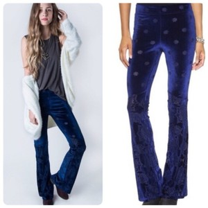 Free People Flare Pants Blue
