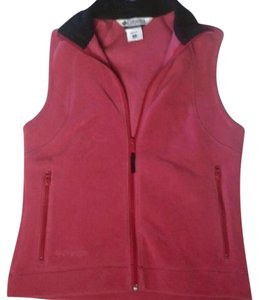 Columbia Fleece Zip Up Winter Vest