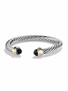 David Yurman David Yurman Cable Classics Bracelet with Gold - Black Onyx