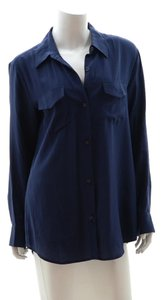 Lilly Pulitzer Button Down Shirt Navy