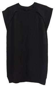 Alexander Wang short dress gray Sweater Cashmere Charcoal on Tradesy