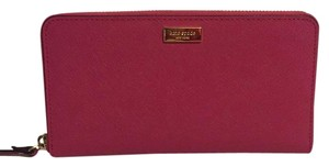Kate Spade Nwt Kate Spade New York Neda Sweetheart Pink Saffiano Leather Wallet