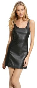 Free People Faux Leather Sleeveless Dress