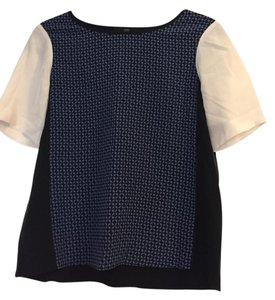 Tibi Silk Top black
