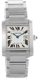 Cartier Cartier Tank Francaise Midsize Stainless Steel Ladies Watch W51011Q3