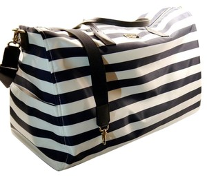 Kate Spade Midnight and Cream Travel Bag