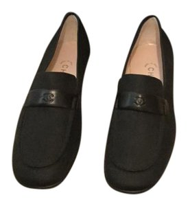 Chanel New Loafers Vintage Black Flats