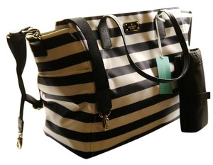 Kate Spade New York Taden Midnight and Cream Diaper Bag
