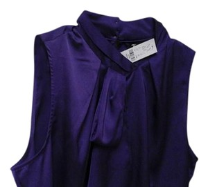 New York & Company Top Purple blouse