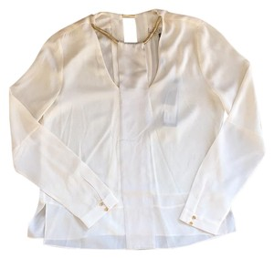 Halston Top White/Gold