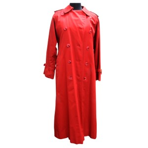 Burberry Double Breasted Trench With Removeable Wool Interior Vest Trench Coat