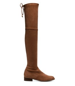 Stuart Weitzman Otk Brown Boot New Walnut Suede Boots
