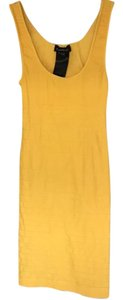 bebe short dress Yellow on Tradesy