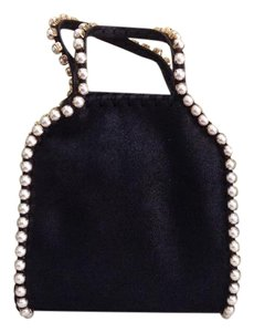 Stella McCartney Metallic Faux Leather Shoulder Bag