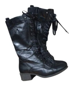 Chester Black Leather Boots