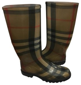 Burberry Burberry print Boots