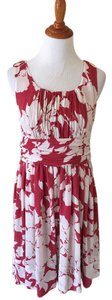 Talbots Floral Empire Waist Dress