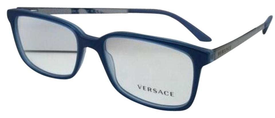 Versace New Ve 3182 5081 55-17 Transparent Blue Azure-blue Sand ...