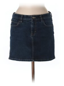 Calvin Klein Junior Denim Jean Sexy School Mini Skirt
