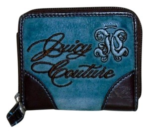 Juicy Couture Juicy Couture Velour Small Zip Around Wallet