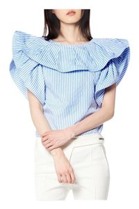 Gracia Top Stripe blue