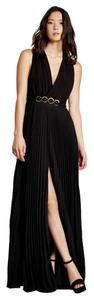 Halston Full Length Neck Gown Dress