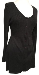 A. Giannetti short dress Charcoal on Tradesy