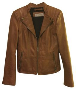 Marc New York Brown Leather Jacket
