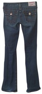 True Religion Petite Denim Boot Cut Jeans-Dark Rinse
